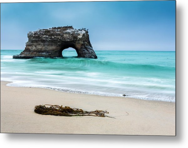 Natural Bridges Metal Print