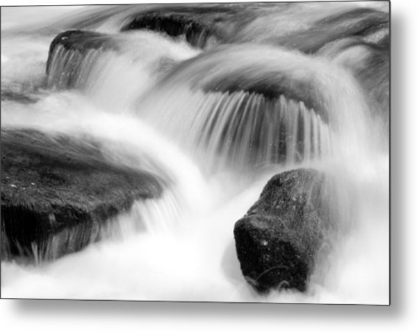 Natural Flow Metal Print
