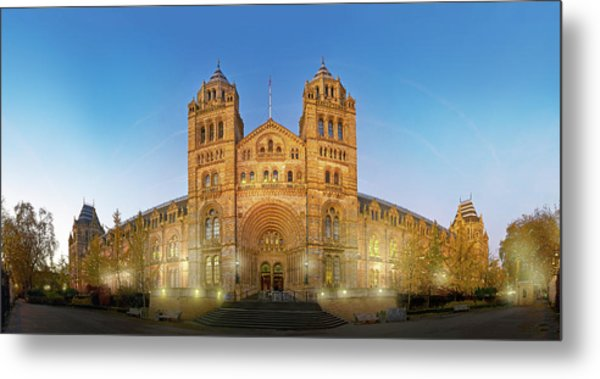 Natural History Museum Metal Print by Natural History Museum, London