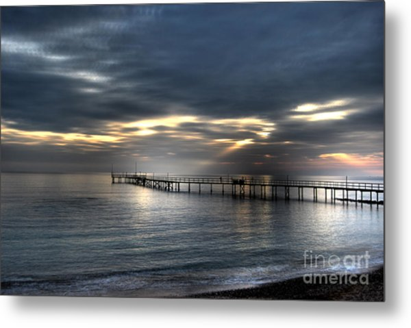 Natural Light Show Metal Print