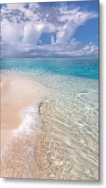 Natural Wonder. Maldives Metal Print