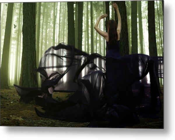 Nature Goddess Metal Print by Fern Evans