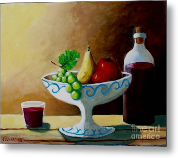 Nature Morte Metal Print