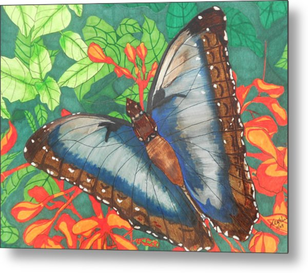 Natures Beauty Metal Print by Willie McNeal