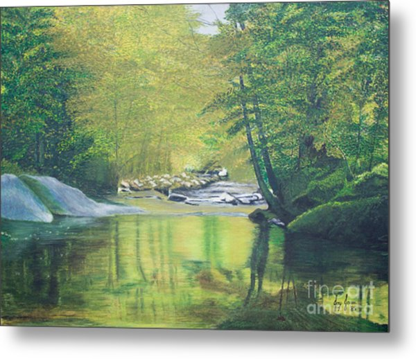 Nature's Charm Metal Print by Joy Ballack