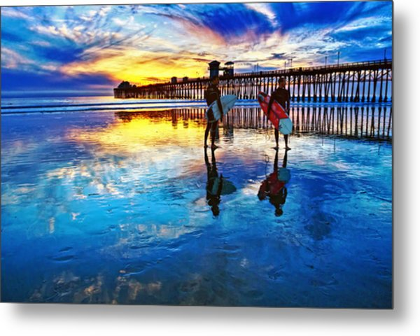 Nature's Extremes Metal Print by Donna Pagakis