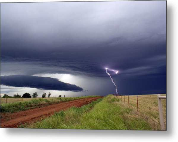 Natures Power Metal Print