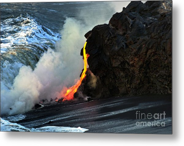 Natures Way Metal Print by Karl Voss