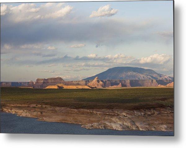 Navajo Mountain View Metal Print