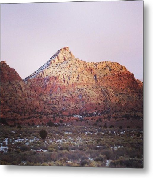 Navajo Winter Metal Print by Jake Harral