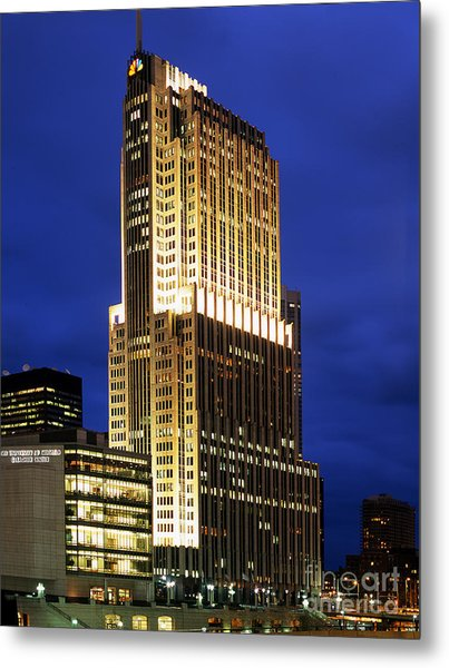 Nbc Tower Building Metal Print