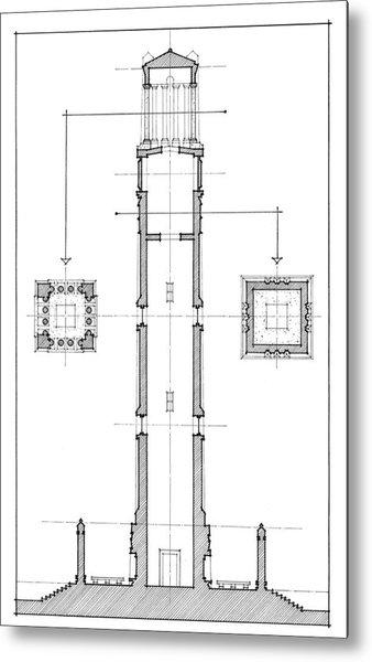 Ncsu Memorial Bell Tower Metal Print