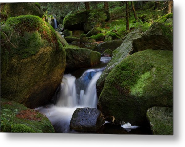 Metal Print featuring the photograph near the Brocken, Harz by Andreas Levi