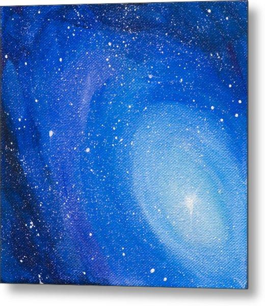 Blue Nebula Metal Print