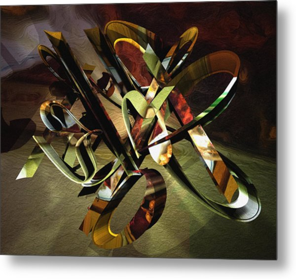 negative aboutness IV Metal Print by Peter Ciccariello