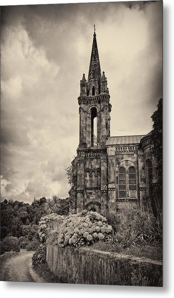 Neo Gothic Chapel Metal Print