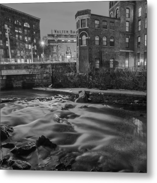 Neponset At Night Metal Print