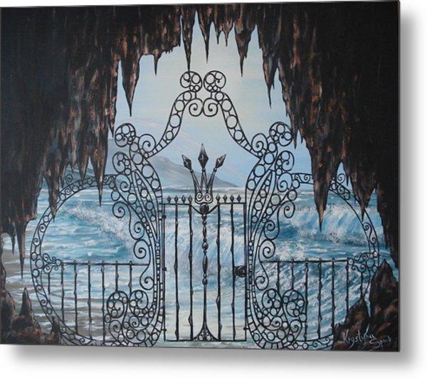 Neptune's Gate Metal Print