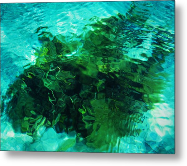 Neptune's Shadow Metal Print by Kim Lessel
