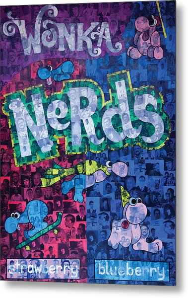 Nerds Metal Print