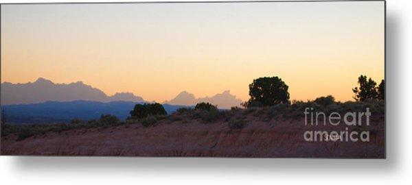 Nevada Sundown Metal Print