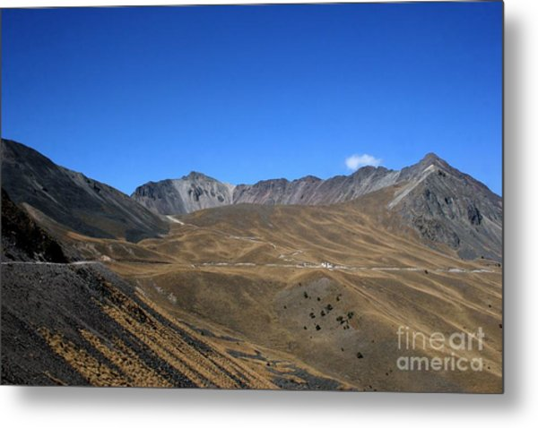 Nevado De Toluca Mexico Metal Print