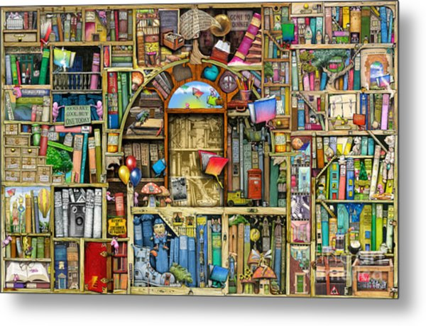 Neverending Stories Metal Print