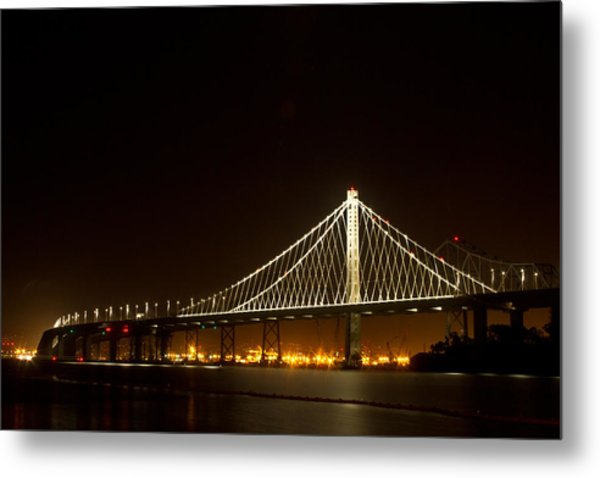 New Bay Bridge Metal Print
