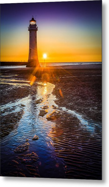 New Brighton Lighthouse Metal Print