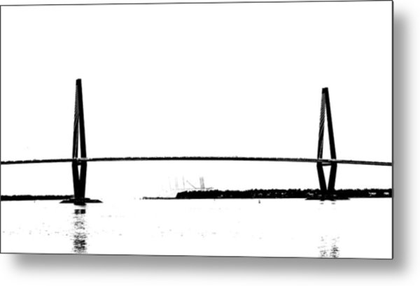 New Cooper River Bridge Metal Print by Philip Zion