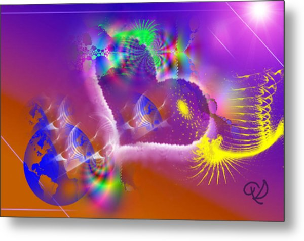 New Creation Metal Print