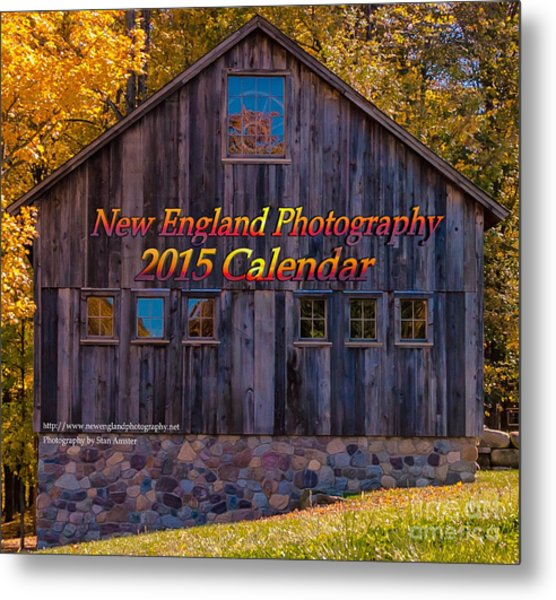 New England Photography 2015 Calendar. Metal Print