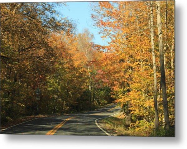 New England Road Metal Print