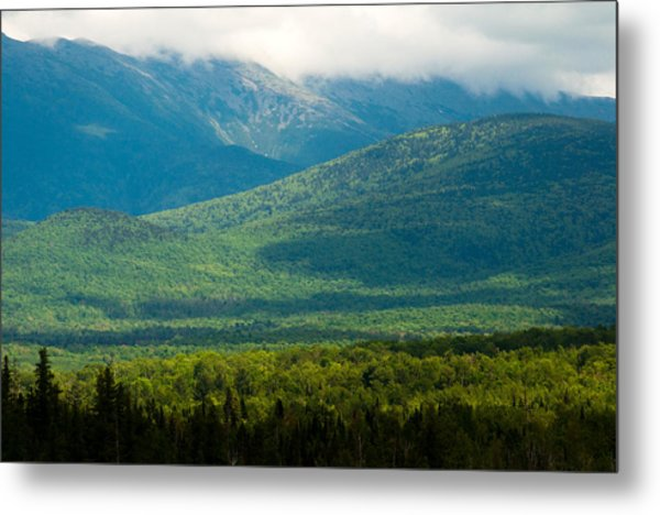 New Hampshire Mountainscape Metal Print
