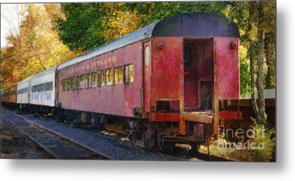 New Hope And Ivyland Metal Print by Louise Reeves