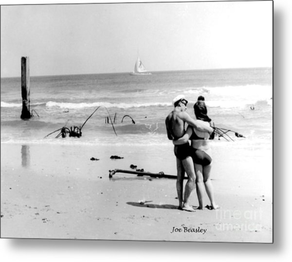 New Jersey Shore  1964 Metal Print by   Joe Beasley
