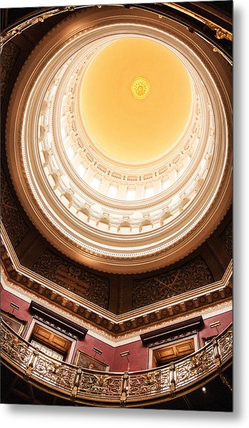 New Jersey Statehouse Dome Metal Print