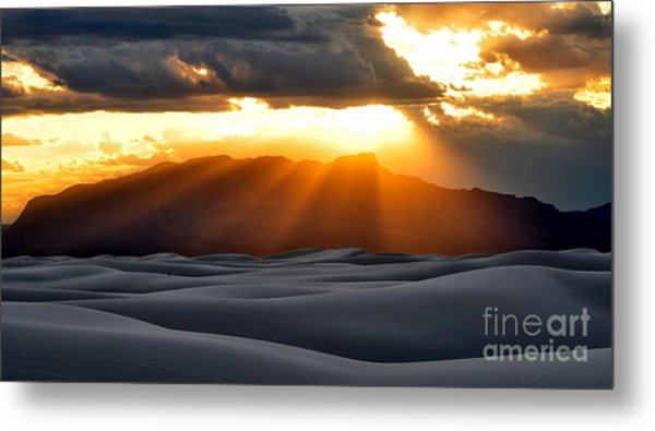 Metal Print featuring the photograph New Mexico Desert by Brian Spencer