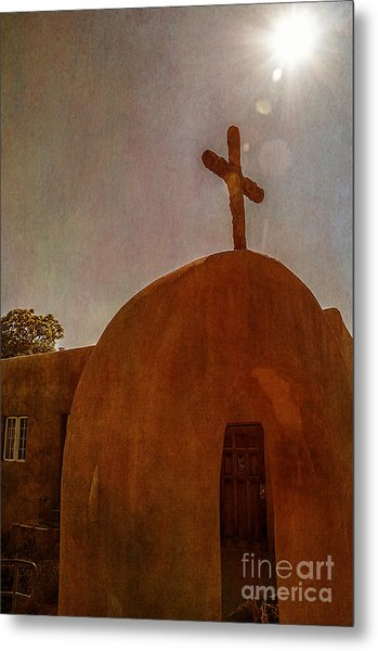 New Mexico Meditation Metal Print