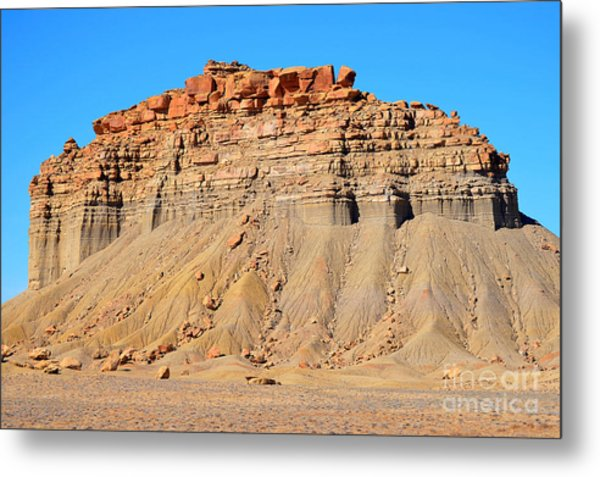 New Mexico Topography Metal Print