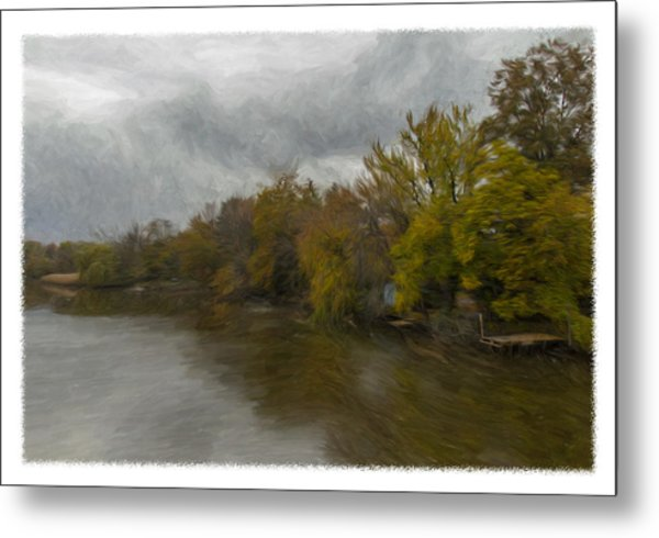 New Milford By Water Side Metal Print