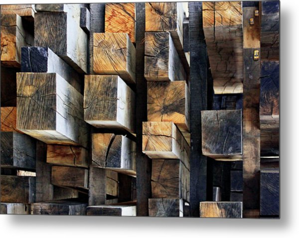 New Oak City Metal Print