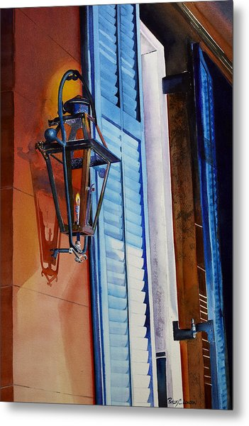 New Orleans At Night Metal Print