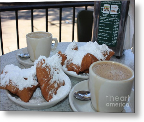 New Orleans Breakfast Metal Print