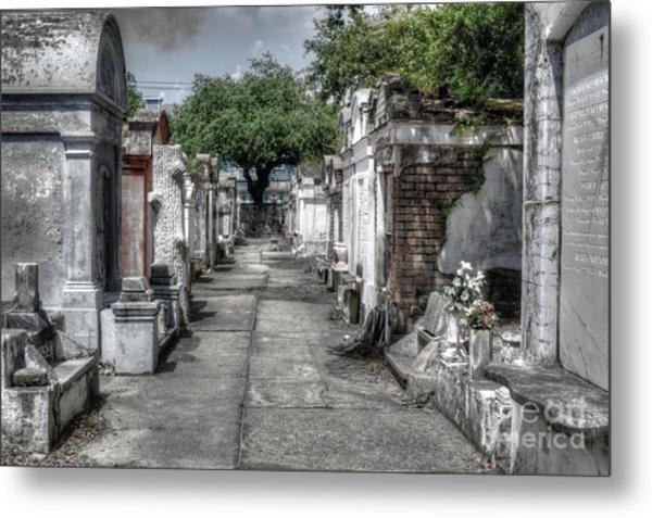 New Orleans Cemetery Metal Print