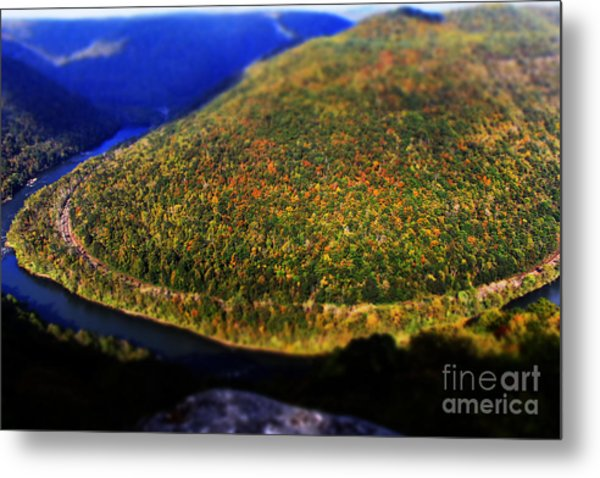 New River Gorge Metal Print
