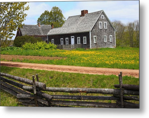 New Ross Farm Museum Metal Print
