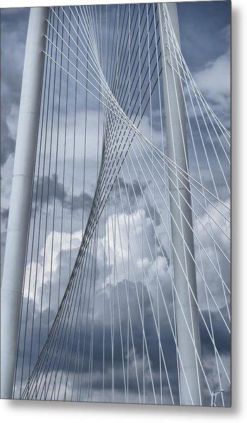 New Skyline Bridge Metal Print