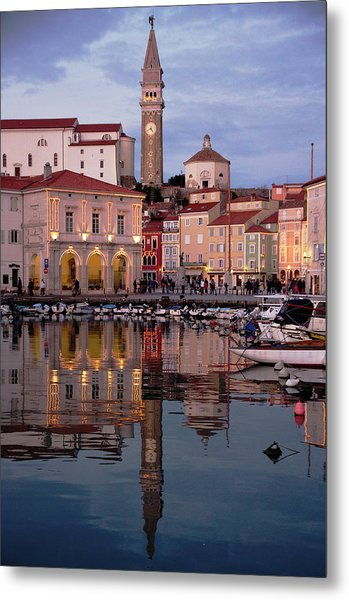 New Years Day Piran Metal Print