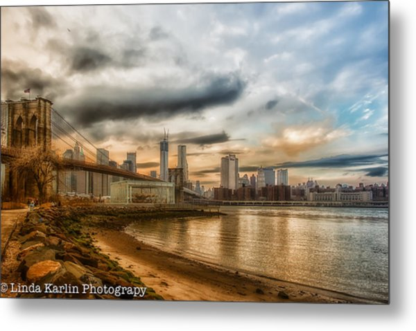 New Year's Day Sunset Metal Print